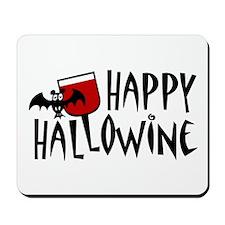 Happy Hallowine Mousepad