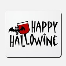 Happy Hallowine Mousepad