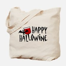 Happy Hallowine Tote Bag