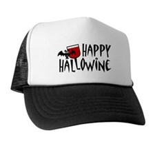 Happy Hallowine Trucker Hat