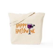 Happy Hallowine Tote Bag