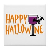 Halloween wine Drink Coasters
