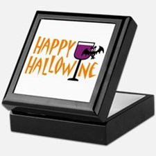 Happy Hallowine Tile Box
