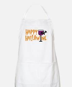 Happy Hallowine BBQ Apron