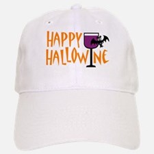 Happy Hallowine Baseball Baseball Cap