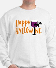Happy Hallowine Sweatshirt