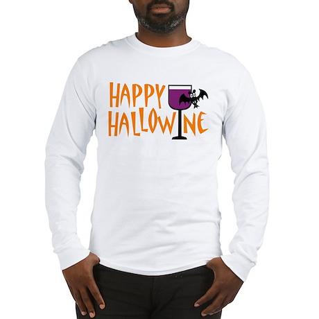 Happy Hallowine Long Sleeve T-Shirt