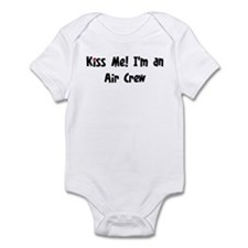 Kiss Me: Air Crew Infant Bodysuit