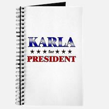 KARLA for president Journal