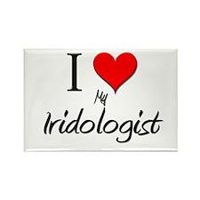 I Love My Iridologist Rectangle Magnet