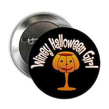 Winey Halloween Girl Button