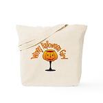 Winey Halloween Girl Tote Bag