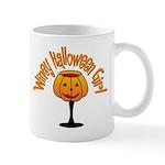 Winey Halloween Girl Mug