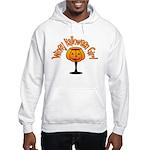 Winey Halloween Girl Hooded Sweatshirt