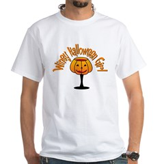 Winey Halloween Girl Shirt