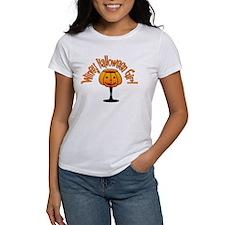 Winey Halloween Girl Tee