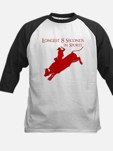 LONGEST 8 SECONDS Kids Baseball Jersey