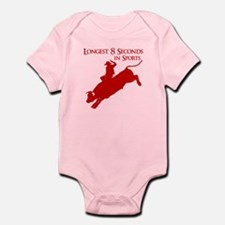 LONGEST 8 SECONDS Infant Bodysuit