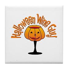 Halloween Guy Tile Coaster