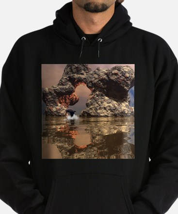Dolphin in the sunset Hoodie