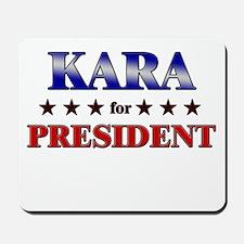 KARA for president Mousepad