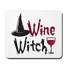 Wine Witch Mousepad