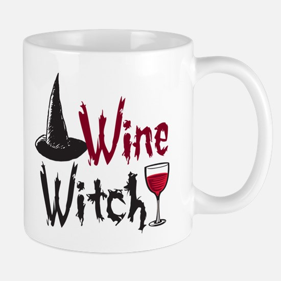 Wine Witch Mug