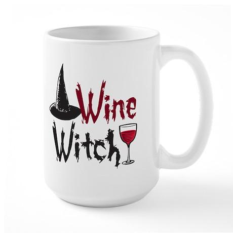 Wine Witch Large Mug