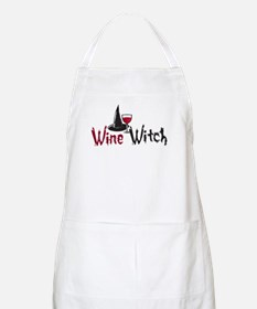 Wine Witch BBQ Apron