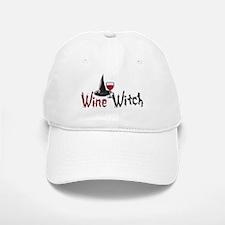 Wine Witch Baseball Baseball Cap