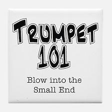 Trumpet 101 Tile Coaster