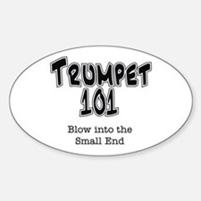 Trumpet 101 Oval Decal