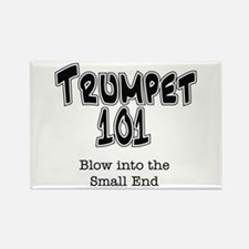 Trumpet 101 Rectangle Magnet