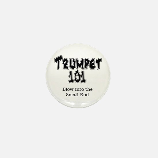 Trumpet 101 Mini Button