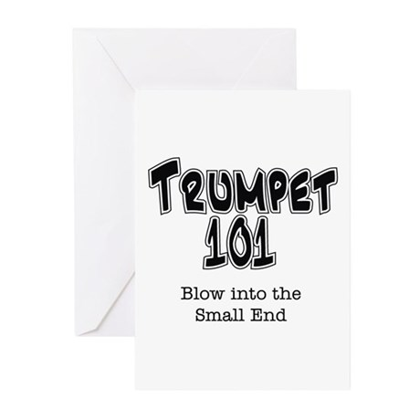 Trumpet 101 Greeting Cards (Pk of 10)