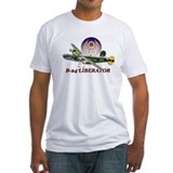 B 24 Fitted Light T-Shirts