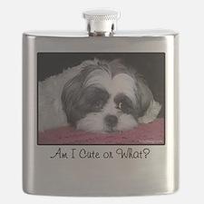 Cute Shih Tzu Dog Flask