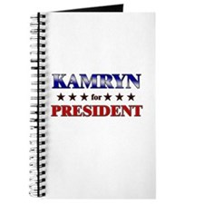 KAMRYN for president Journal