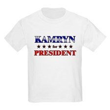 KAMRYN for president T-Shirt