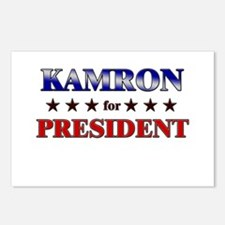 KAMRON for president Postcards (Package of 8)
