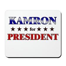 KAMRON for president Mousepad