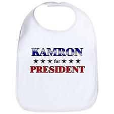 KAMRON for president Bib