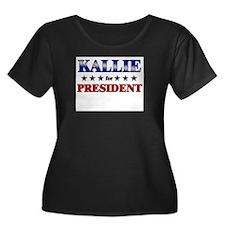 KALLIE for president T