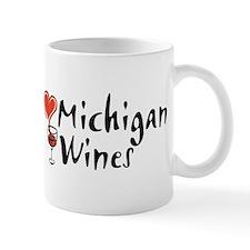 I Love Michigan Wines Mug