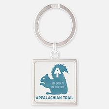 Unique Appalachian Square Keychain