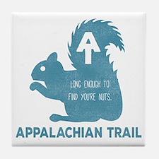 Cool Appalachian trail Tile Coaster