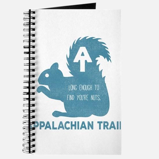 Cute You're Nuts Appalachian Trail Journal