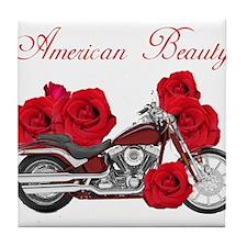American Beauty Tile Coaster