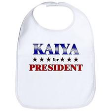 KAIYA for president Bib