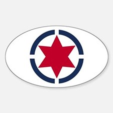 Star of David Shield Decal